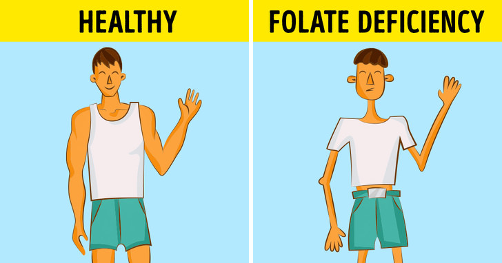 Here Are The 7 Sings That Your Body Need Folic Acid