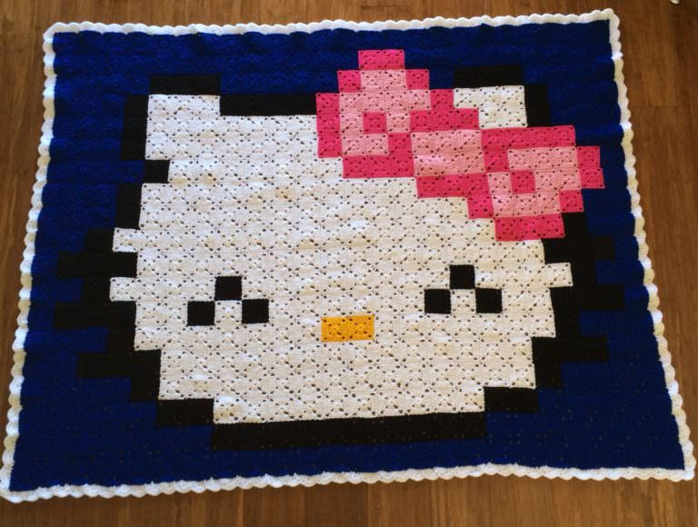 How Are Pixel Blankets Knitted ?