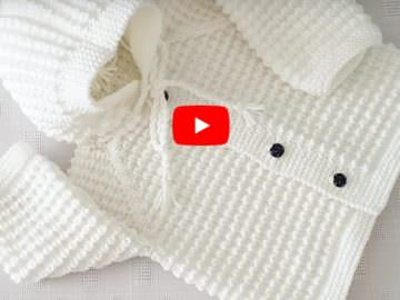 A Cardigan With Mouse Tooth Model