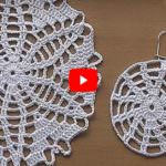 CROCHET doily Tutorial Pattern