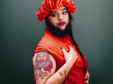 Bearded Lady Beats The Bullies